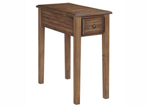 Solid Wood Chair Side End Tables
