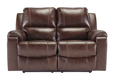 Image for Rackingburg Mahogany Reclining Loveseat