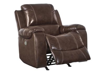 Rackingburg Mahogany Power Rocker Recliner