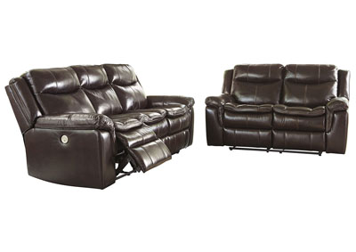 Lockesburg Canyon Power Reclining Sofa & Loveseat