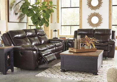 Lockesburg Canyon Reclining Sofa & Loveseat