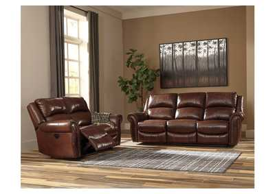 Bingen Harness Power Reclining Sofa & Loveseat