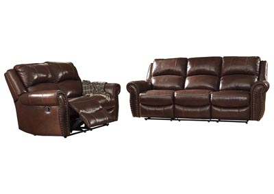 Image for Bingen Harness Reclining Sofa & Loveseat