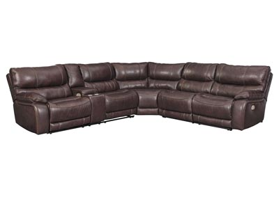 Muirfield Mahogany Sectional