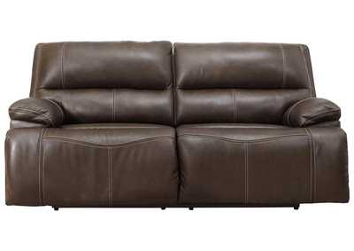 Ricmen Walnut Power Reclining Sofa