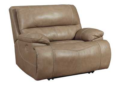 Ricmen Putty Oversized Power Recliner