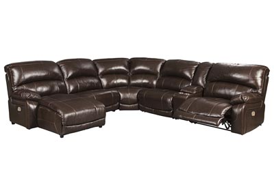 Image for Hallstrung Chocolate LAF Chaise Reclining Sectional