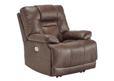 Wurstrow Umber Power Recliner w/Adjustable Headrest