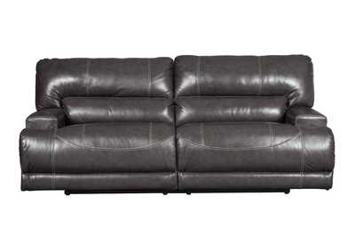 Image for McCaskill Gray 2 Seat Reclining Power Sofa