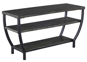 Champori Grayish Brown TV Stand,Signature Design By Ashley