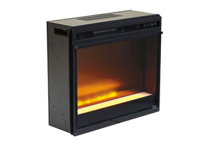 Glass/Stone LED Fireplace Insert