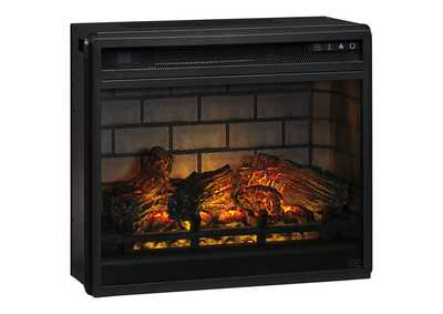 Entertainment Accessories Black Electric Infrared Fireplace Insert