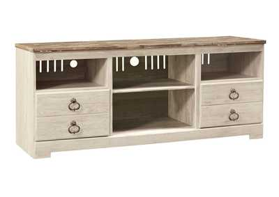 "Image for Willowton Whitewash 64"" TV Stand"