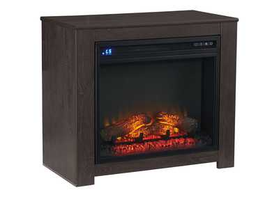 Image for Harlinton Black Fireplace Mantel