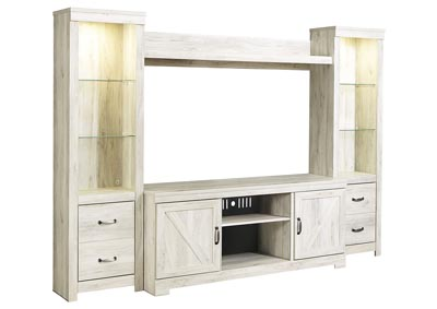 Image for Bellaby Whitewash Entertainment Center