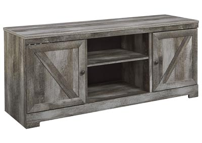 Wynnlow Gray LG TV Stand w/Fireplace Option