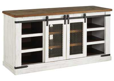 Wystfield White/Brown TV Stand