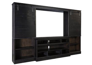 Sharlowe Charcoal Entertainment Center