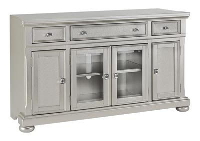 Coralayne Silver TV Stand
