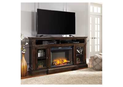 Roddinton XL TV Stand w/Fireplace