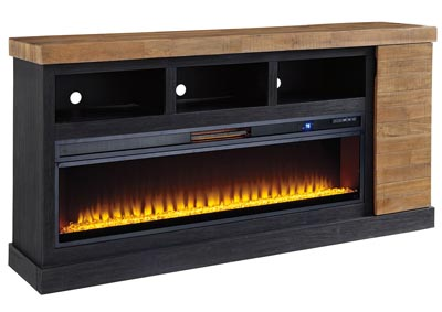 Tonnari Two XL TV Stand w/Fireplace