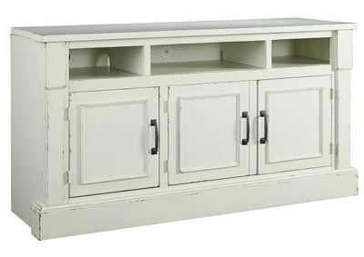 Blinton White TV Stand