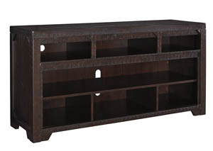 Rogness Dark Brown Large TV Stand