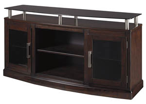 Chanceen Dark Brown Medium TV Stand