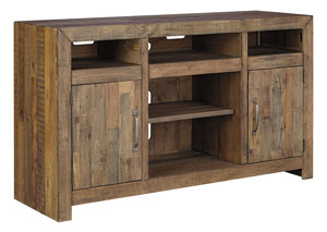 Sommerford Brown Large TV Stand