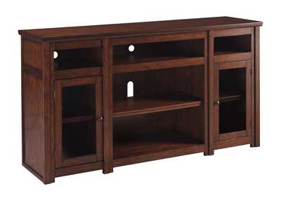 Image for Harpan Reddish Brown Extra Large TV Stand