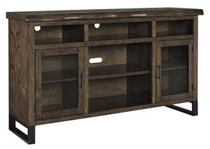Esmarina Walnut Brown Large TV Stand