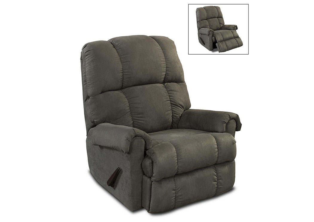 100 Graphite Recliner,Atlantic Bedding & Furniture