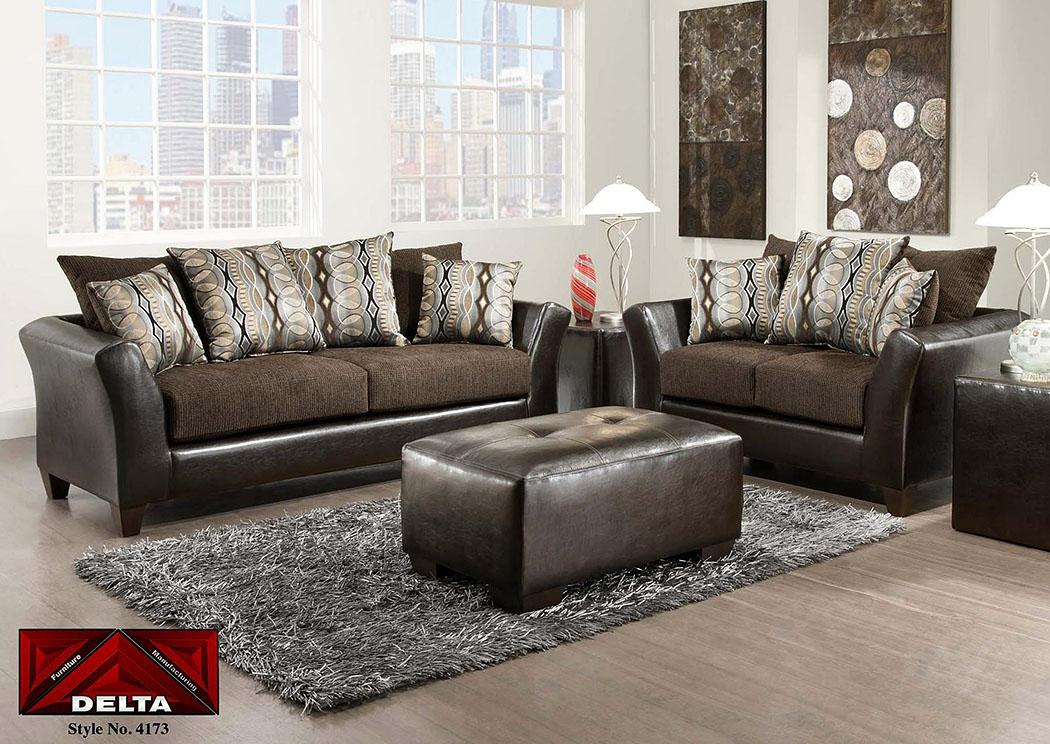 jefferson chocolaterip sable sofaatlantic bedding furniture - Atlantic Bedding And Furniture