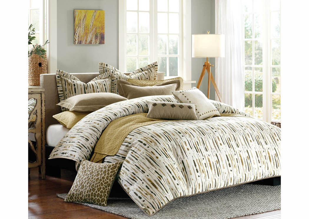Hopecrest Queen Comforter Set,Atlantic Bedding & Furniture