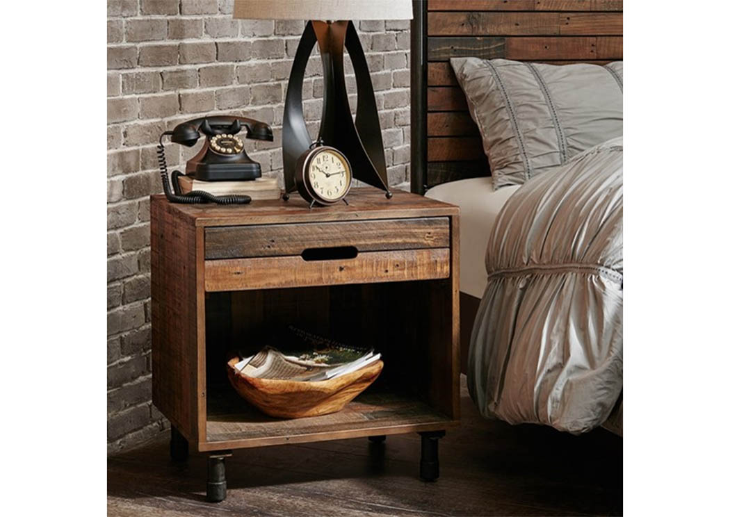 Renu Nightstand,Atlantic Bedding & Furniture