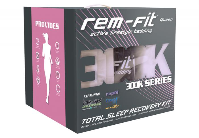 REM Fit 300K Queen Kit,Atlantic Bedding & Furniture