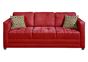 Sienna Redrock Skinny Minnie Godiva Stationary Sofa