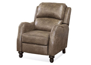 Emu Brownie Push Back Recliner (Shown in Mocha)
