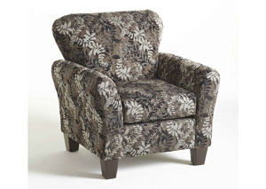 Candella Pewter Accent Chair
