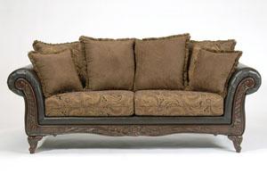 Merveilleux San Marino Chocolate Sofa