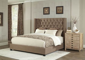 9247 Brooks Copper Queen Upholstered Bed