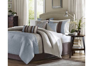Amherst 7 Piece Queen Comforter Set