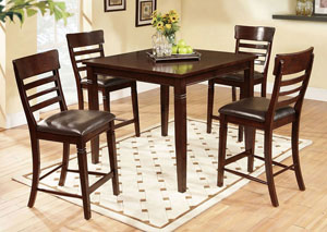 May Pub Table w/ 4 Chairs