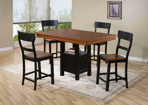 Fritz 5 Piece Pub Table Set