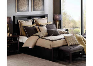 Serpentine Queen Comforter Set