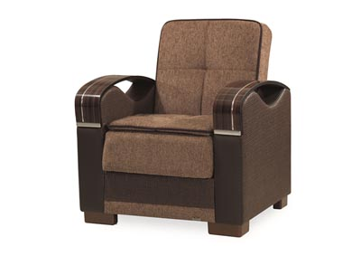 Image for Bristol Brown Chenille Chair