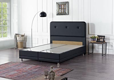 Image for Casarest Black Twin Storage Bed
