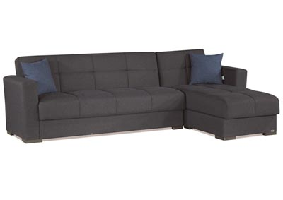 Image for Mystic Dark Denim Chenille Sectional