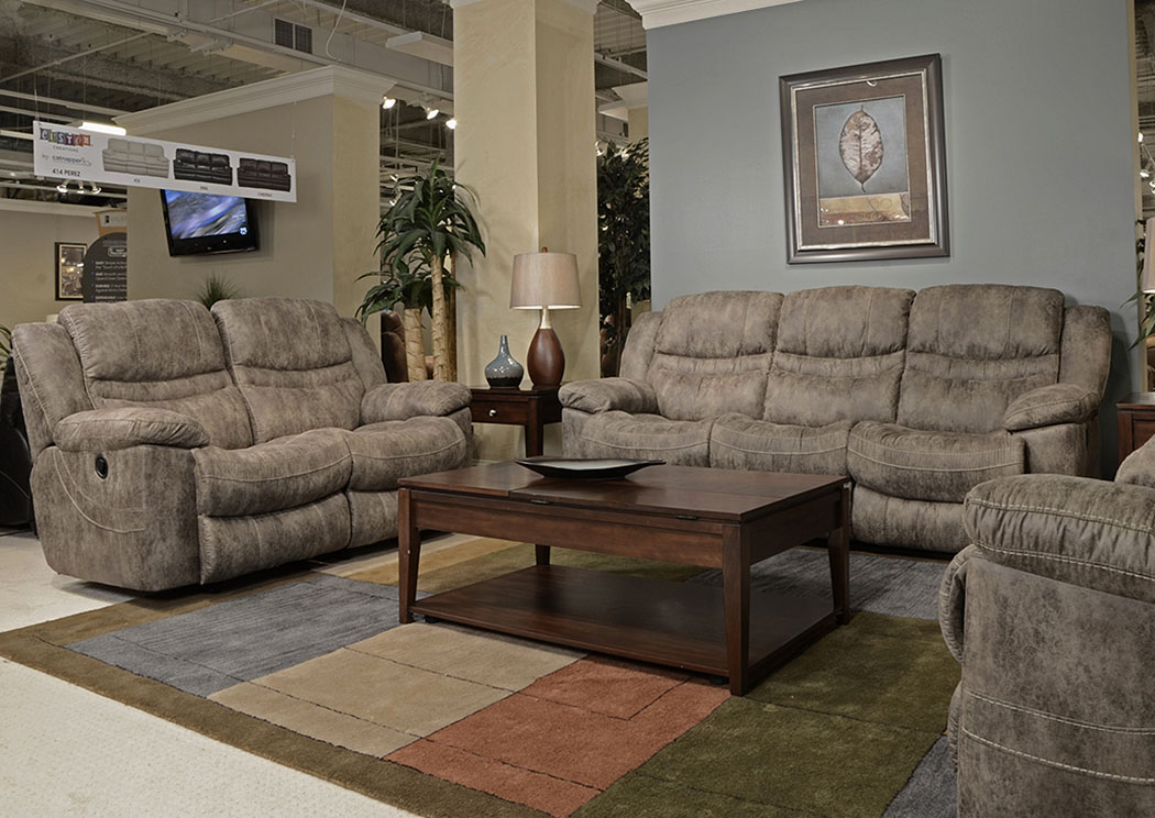 Valiant Marble Reclining Sofa & Loveseat,ABF Catnapper