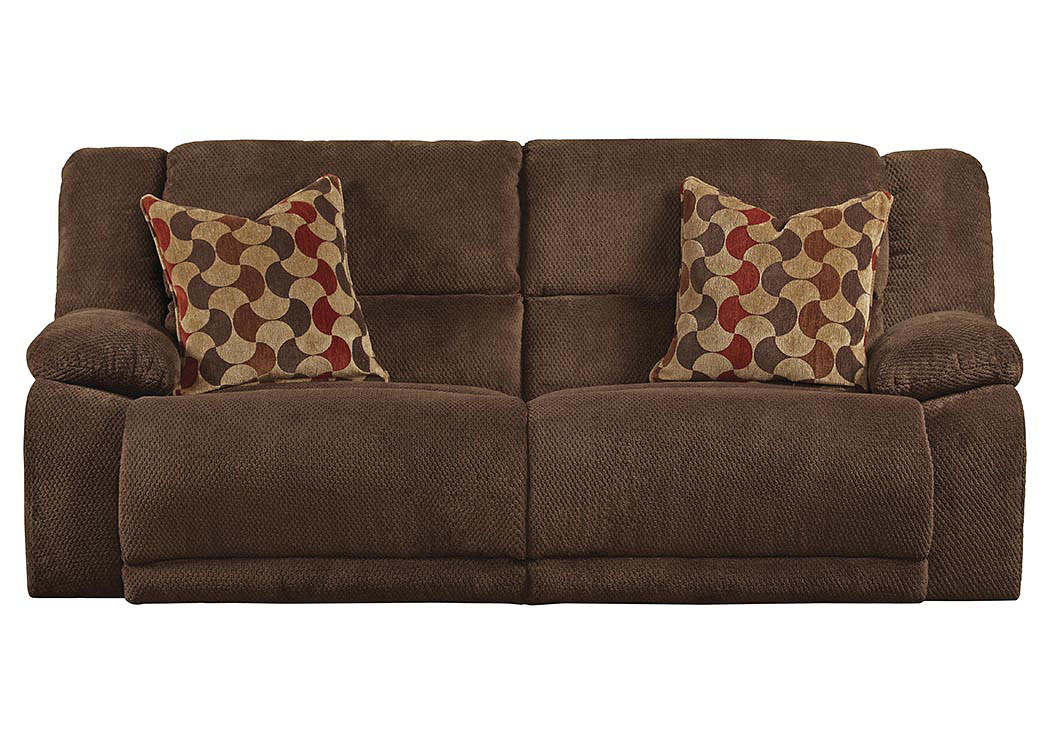 Delicieux Hammond Mocha/Spice Reclining Console Loveseat W/Storage U0026 Cupholders,ABF  Catnapper